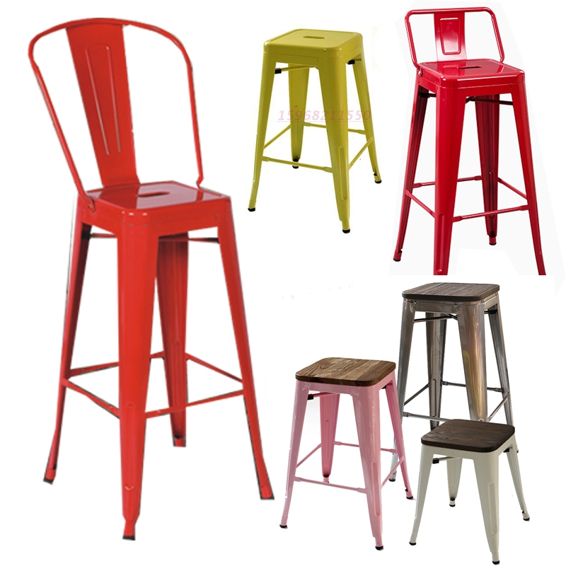 Popular Metal Bar Stool Buy Cheap Metal Bar Stool Lots From China inside cheap metal bar stools for Household