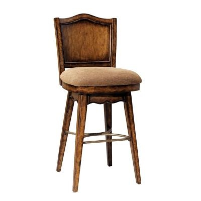 Powell Bourbon Street Swivel Bar Stool 579 729 The Home Depot in powell bar stools with regard to Residence