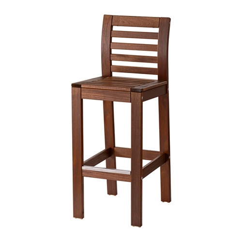 Pplar Bar Stool With Backrest Outdoor Ikea intended for bar stool with backrest with regard to Your own home