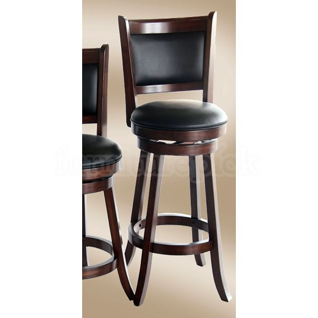 Preston Home Bar Set Distressed Walnut Eci Furniture Furniturepick within 35 Inch Bar Stools