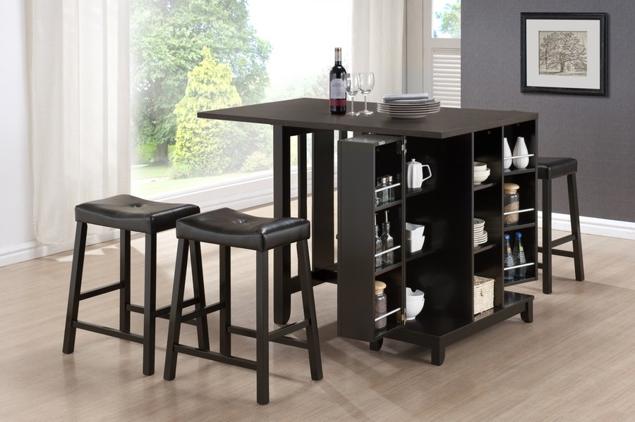 Pub Table And Chairs Ideas Home Storage with regard to bar table and stool set for Current Residence