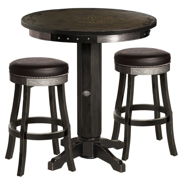 Pub Tables Stools And Tables On Pinterest with regard to bar table and stool set for Current Residence