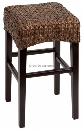 Rattan Counter Stool Foter with regard to woven bar stools for Inspire