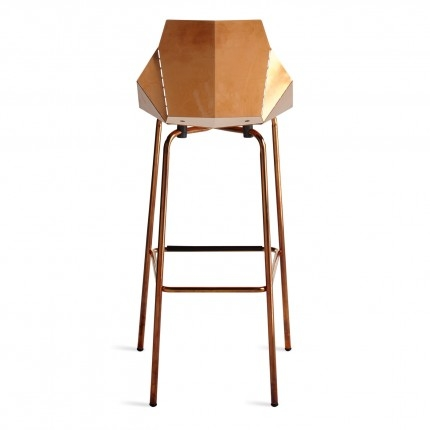 Real Good Copper Bar Stool Modern Bar Stools Blu Dot throughout The Most Brilliant along with Gorgeous copper bar stools for The house