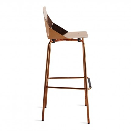 Real Good Copper Bar Stool Modern Bar Stools Blu Dot with regard to Copper Bar Stools