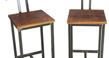 Reclaimed Wood Bar Stools Set Of 2 Bar Stools And Counter for The Most Brilliant  reclaimed wood bar stools regarding Inviting
