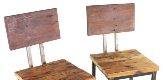 Reclaimed Wood Bar Stools Set Of 2 Bar Stools And Counter in Reclaimed Wood Bar Stool