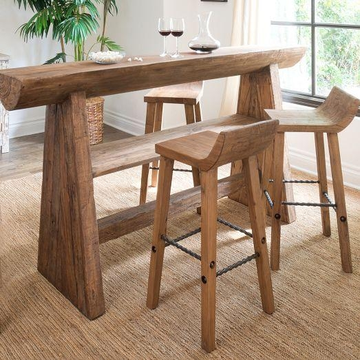 Reclaimed Wood Low Back Bar Stool And Counter Stool inside reclaimed wood bar stool pertaining to Inspire