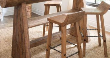 Reclaimed Wood Low Back Bar Stool And Counter Stool pertaining to Reclaimed Wood Bar Stools