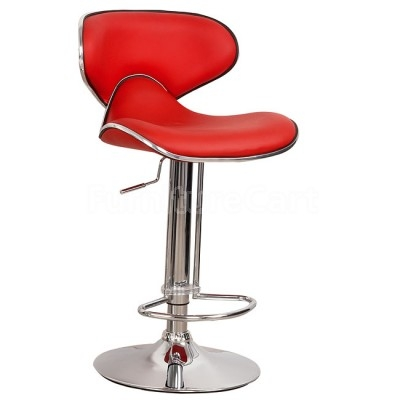 Red Bar Stool Set Of 2 World Imports Furniture Cart regarding red bar stool with regard to The house