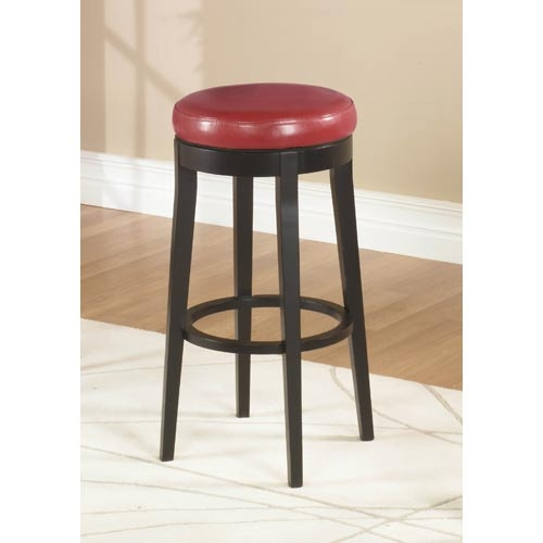 Red Bar Stools Bellacor for red leather swivel bar stools intended for Cozy