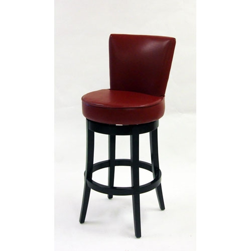 Red Bar Stools Bellacor throughout red leather swivel bar stools intended for Cozy