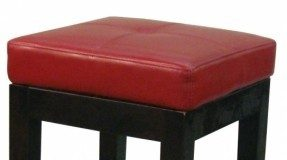 Red Leather Bar Stools Foter with regard to 27 bar stools intended for Residence