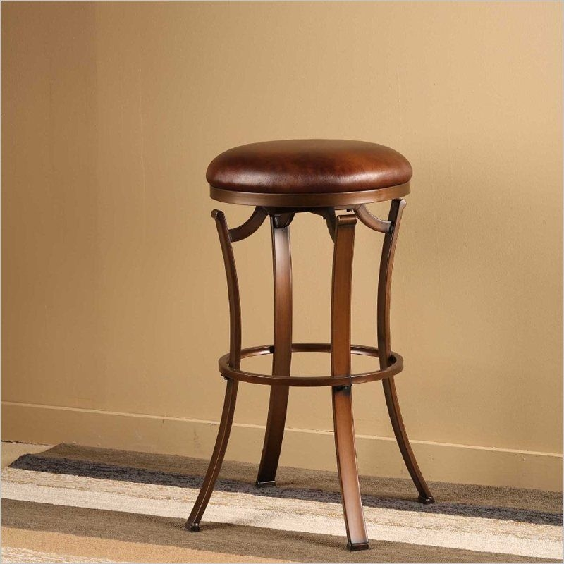 Red Leather Swivel Bar Stools Stool Inspiration Leather Swivel throughout The Awesome along with Interesting brown leather swivel bar stools for Residence