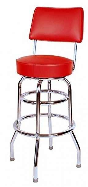 Red Vinyl Bar Stools Foter regarding red bar stools with backs regarding  Household