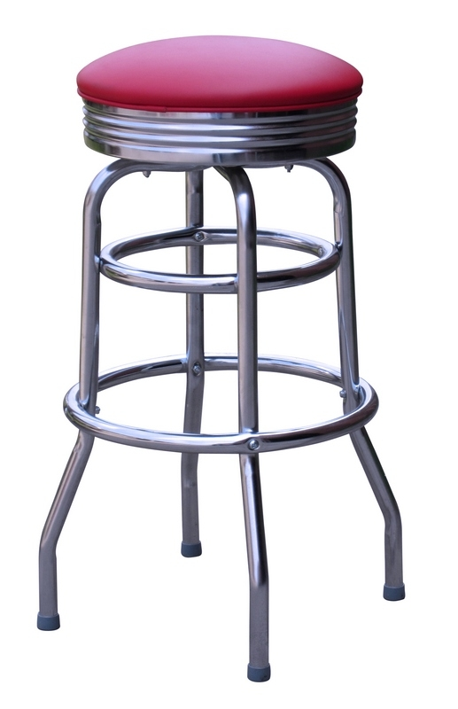 Retro Bar Stools Retro Diner Stools Model 1971 pertaining to The Elegant and Gorgeous vintage swivel bar stools for Comfy