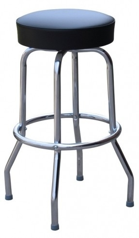 Retro Chrome Swivel Bar Stools Foter with Chrome Swivel Bar Stools