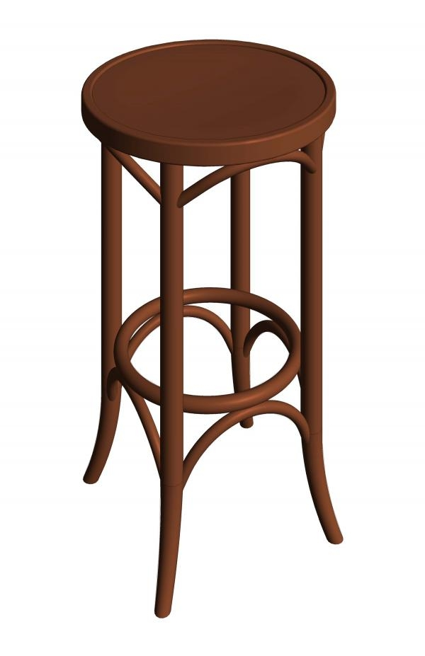 Revitcity Object Bentwood Backless Thonet Bar Stool within The Most Stylish  bentwood bar stools pertaining to Really encourage