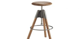 Revolution Adjustable Bar Stool Cb2 throughout Adjustable Bar Stool