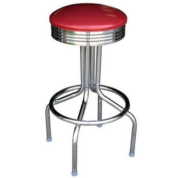 Richardson Bar Stools Counter Stools Retro Barstools Diner inside Retro Bar Stool