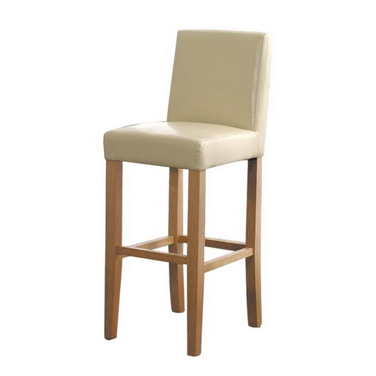 Rodinoakcream within faux leather bar stools regarding Your own home