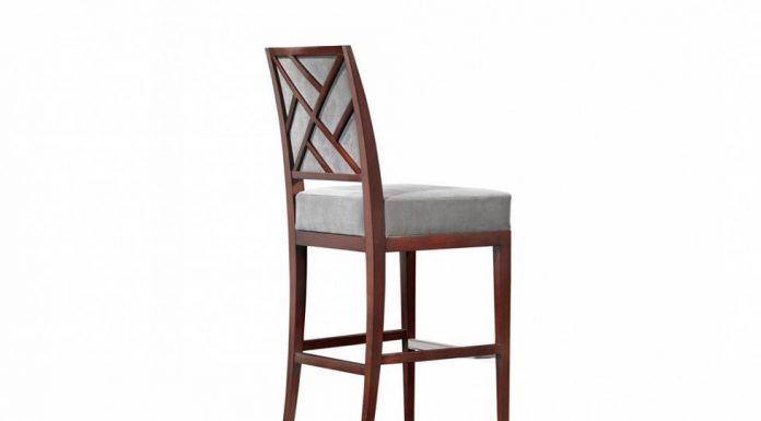 Rosenau Upholstered Back Bar Stool 50018 Bolier for Upholstered Bar Stools With Backs