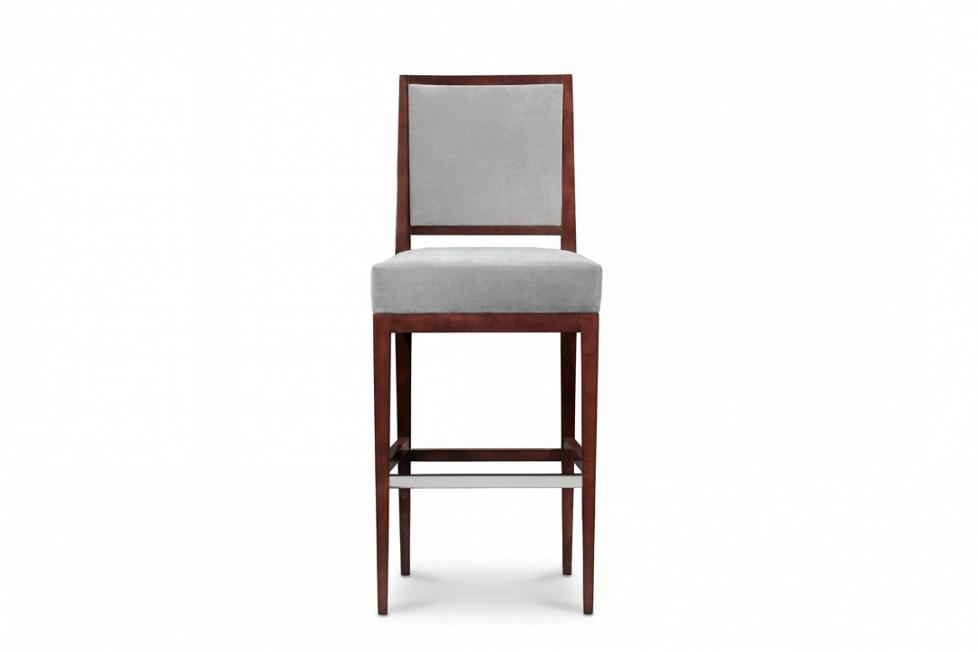 Rosenau Upholstered Back Bar Stool 50018 Bolier pertaining to upholstered bar stools with backs for Your own home