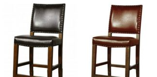 Rowan Leather Bar Height Stool pertaining to Bar Height Stool