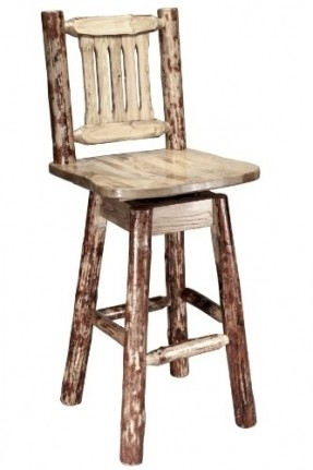 Rustic Bar Stools Foter intended for swivel wood bar stools with backs pertaining to Your own home