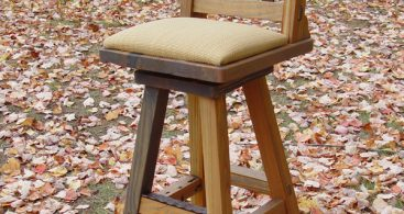 Rustic Lodge Log And Timber Furniture Handcrafted From Green inside rustic swivel bar stools with regard to The house