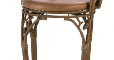 Rustic Ponderosa Swivel Bar Stool Reclaimed Furniture Design Ideas intended for Rustic Swivel Bar Stools