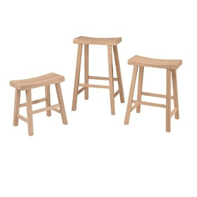 Saddleseat Counter Stool Unfinished Furniture New Jersey New inside Awesome  unfinished swivel bar stools with regard to Encourage