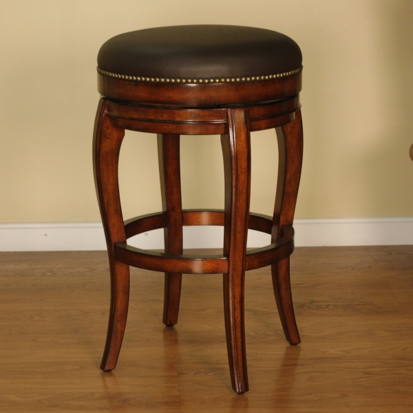 Santos Backless Bar Stool American Heritage within American Heritage Bar Stools