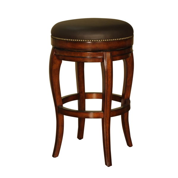 Santos Backless Bar Stool American Heritage within backless bar stools for Desire