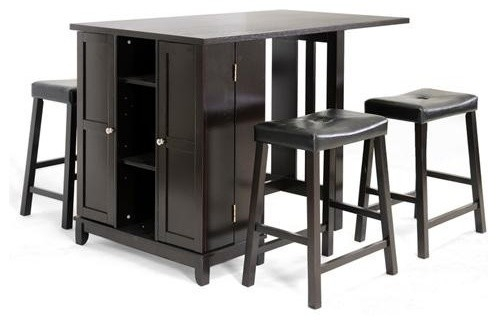 Sarsetta Pub Set With Hadley Bar Stools The Table with regard to Bar Stool Tables