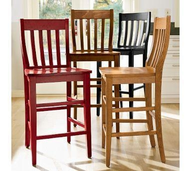Schoolhouse Barstool Pottery Barn intended for pottery barn bar stools regarding Your house