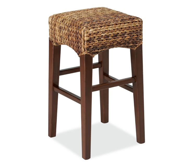 Seagrass Backless Barstool Pottery Barn with regard to seagrass bar stool pertaining to  Household