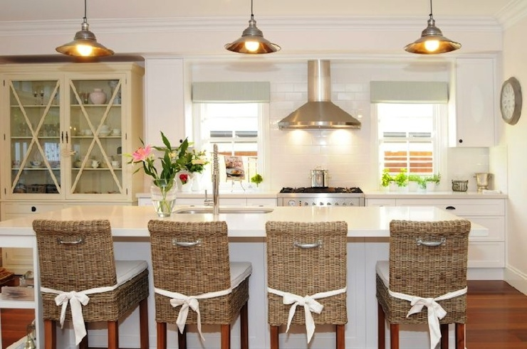 Seagrass Bar Stools Country Kitchen Under Spanish Moss pertaining to Seagrass Bar Stool