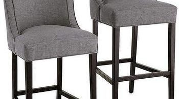 Seating Gray Fabric Bar Stool inside The Awesome  cloth bar stools intended for The house