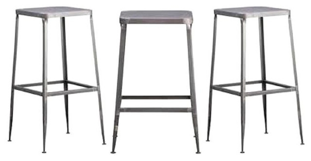 Set Of 3 Flint Barstools From Cb2 385 Est Retail 155 On with regard to 3 Bar Stools
