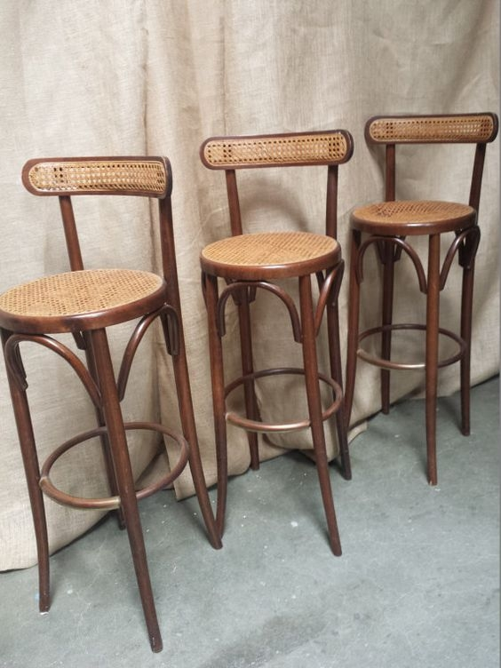 Set Of Bar Stools And Stools On Pinterest intended for Bentwood Bar Stools