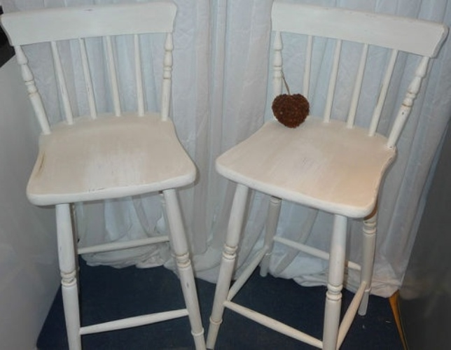 Shab Chic Bar Stools Uk Bar Stools Stools Gallery G2mlb4owj5 intended for Shabby Chic Bar Stools