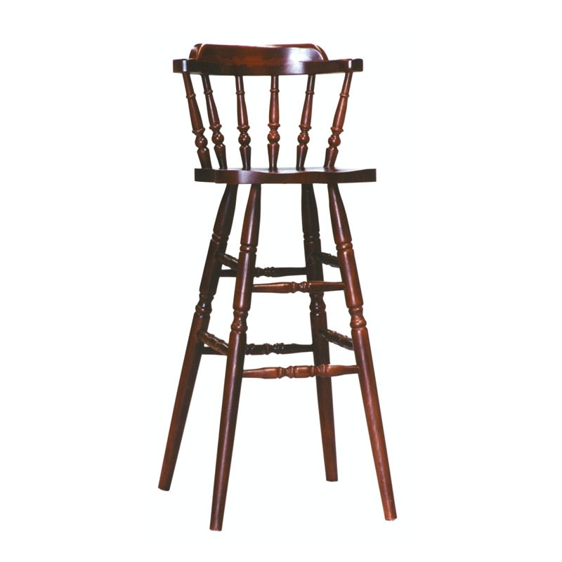 Simple All Wood Stool For Snack Bar Idfdesign in old bar stools pertaining to Found Property