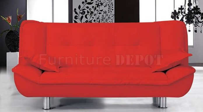Sofa Bed Leather Model Sofa Bed Leather Model regarding The house red leather sofa bed 2339 home inspiration ideas 800 X 458