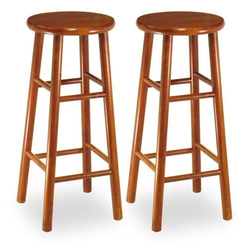 Solid Cherry Wood Bar Stools Bellacor for Cherry Wood Bar Stools