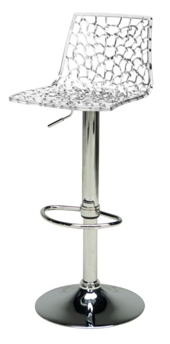Spider Clear pertaining to Clear Bar Stools