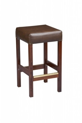 Square Backless Bar Stool Foter pertaining to Square Bar Stools