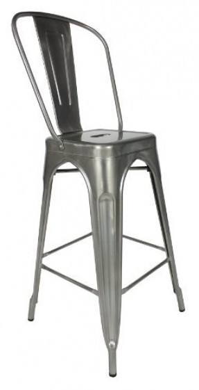Steel Brushed Bar Stools Foter with galvanized bar stools for Motivate