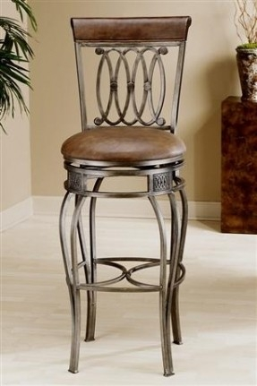 Steel Upholstered Bar Stools Foter intended for Breakfast Bar Stools