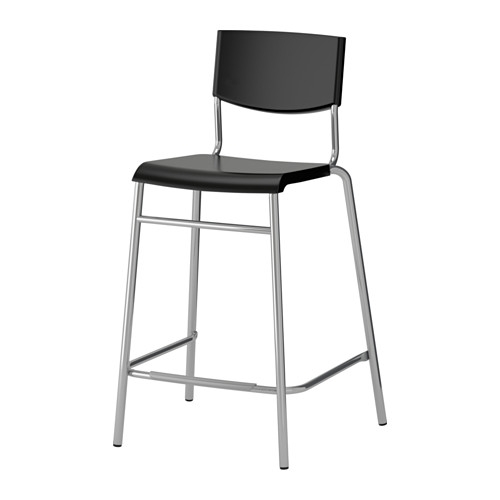 Stig Bar Stool With Backrest 24 34 Quot Ikea within Bar Stools With Backs Ikea